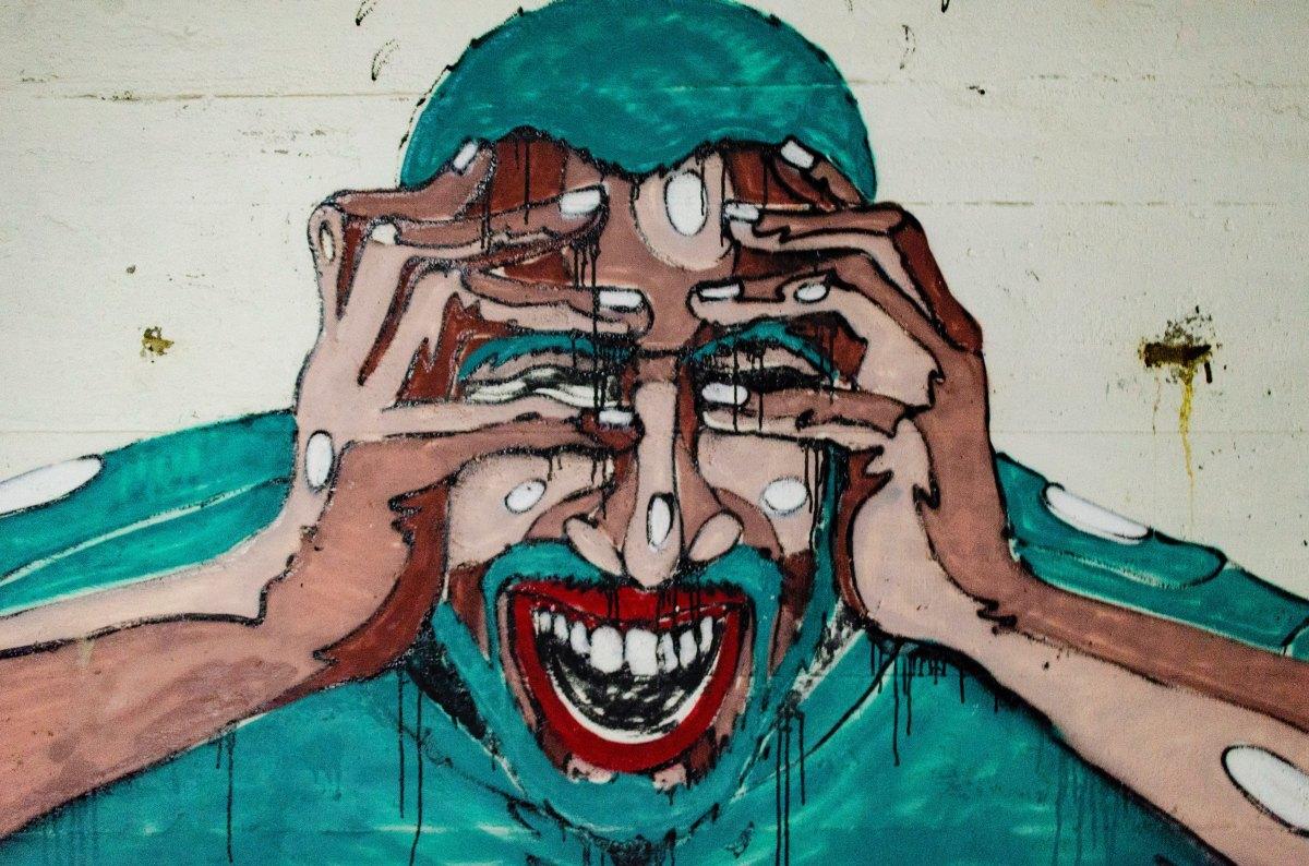 a dor que é invisível aos olhos