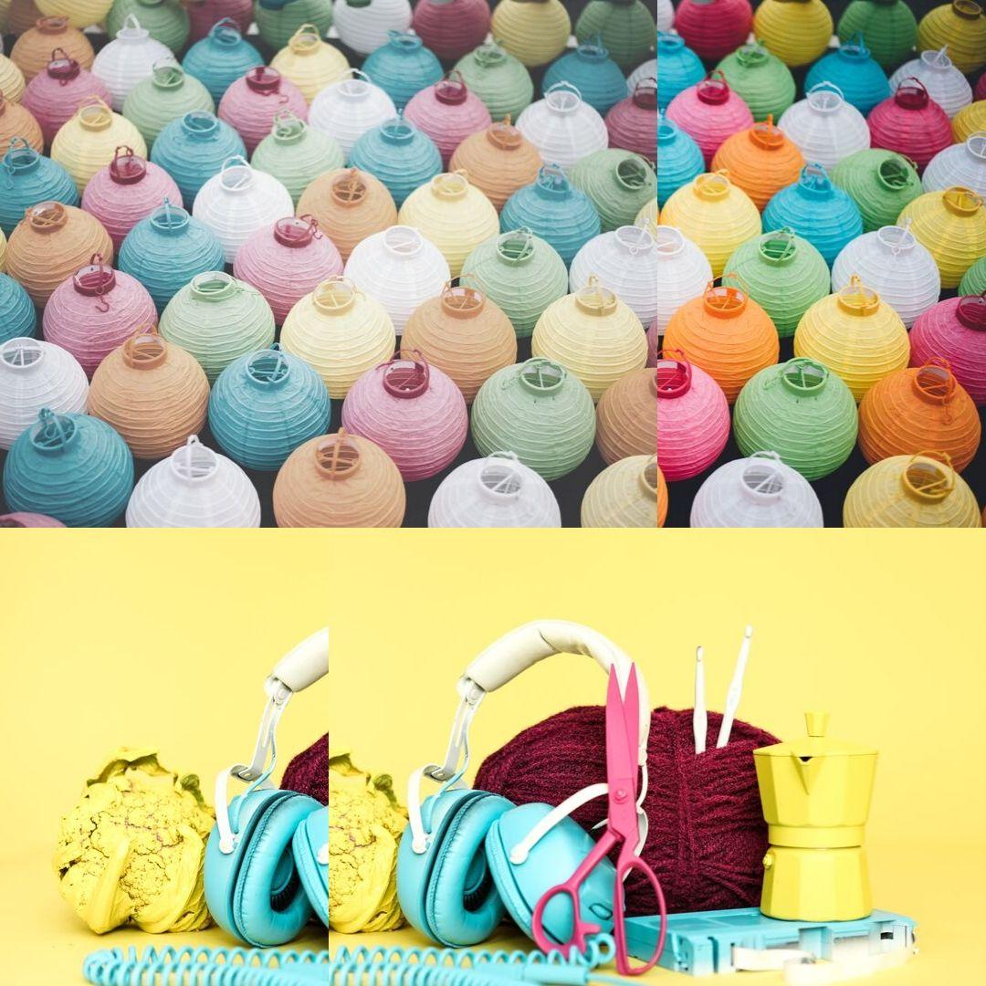 cores que usamos para colorir a vida