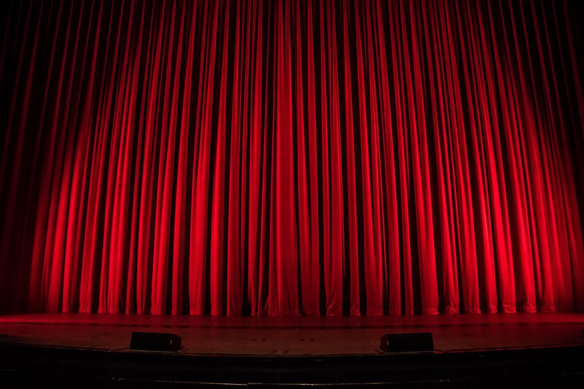 O palco davida.